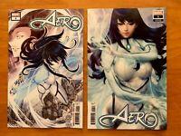 AERO #1 Keng Main + Artgerm Variant (New Agents of Atlas)  Marvel 2019 NM