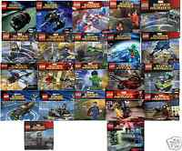 22x LEGO Marvel Super Heroes Batman Superman Thor Iron Man DC Comics Avengers