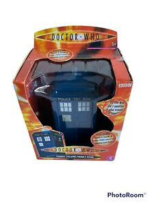 Dr Who Tardis Speech & Sound Money Bank 2004 Edition BBC TV Series