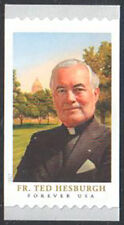 SC#5242 - Forever (50c) Father Theodore Hesburgh Coil Single MNH