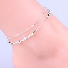 Beauty Women Little Star Chain Ankle Bracelet Barefoot Sandal Beach Foot Jewelry