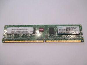1GB DDR2-800MHz PC2-6400 DESKTOP RAM. KINGMAX  Single Sided KLDD48F-B8KW6 NGES
