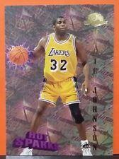 Magic Johnson card Hot Sparks 95-96 Skybox #HS11