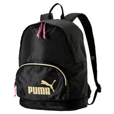 6c46c57390d25 PUMA WMN Core Seasonal Backpack Rucksack Tasche Puma Black Schwarz Gold