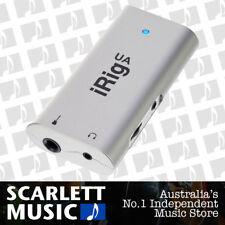 IK Multimedia iRig UA Universal Android Guitar Bass Interface - BNIB