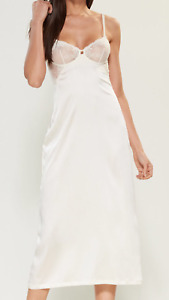 La Perla Primula Collection S Silk Negligee Nightgown Bridal Ivory