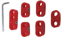 7MM IGNITION WIRE SEPARATORS - RED- VW RAIL DUNE BUGGY BUG BUS GHIA BEETLE SPLIT