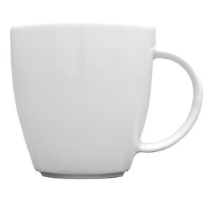 Kaffeebecher aus Porzellan Henkelbecher Tassen ca. 0,30 Liter Victoria / Carrara