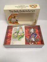 The Sally Butters Series Egg Cup Napkin Ring And Spoon Made In England New
