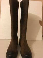 Clarks Orinoco Eave leather knee high brown Snuff Size 4 E  riding womens boots