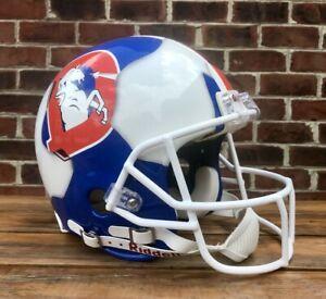 John Elway Ripped Denver Broncos Authentic Stanford Cardinals Football Helmet