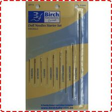Birch Doll Needle Starter Kit - 9 Sizes Beading Tapestry Leather Yarn Embroidery
