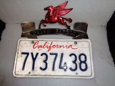 One. License Plate Topper  w/Sticker Tags Chevy,Ford. 1937,38,39,40,41,46,47