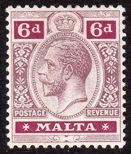 Pre-Decimal Lightly Hinged Maltese Stamps (Pre-1964)