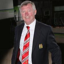 Manchester United Football Club Official Soccer Gift Sir Alex Ferguson Poly Tie