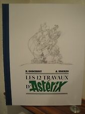 R. Goscinny A. Uderzo – Astérix – Les XII travaux d'Astérix – Tirage de tête