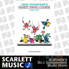 John Thompson's Easiest Piano Course - Part 5 (Five) Book Only *BRAND NEW*