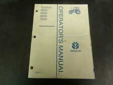 New Holland 4835 5635 6635 7635 Tractor Operator's Manual   42483541