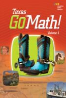 Go Math Texas Grade 2 Student Edition Set 2nd Volumes 1 & 2