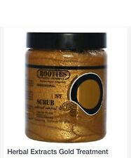 Rooties Herbal Extracts Gold Whitening Treatment Scrub