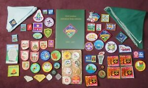COLLECTION OF 61 SCOUT AND CUB PATCHES & BADGES JAMBOREE SEA SCOUTS Scouting