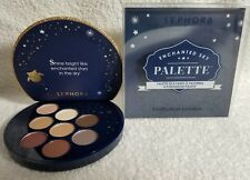Sephora ENCHANTED SKY PALETTE 8 Eyeshadow Matte Shimmer Nude Deep Brown Gold New