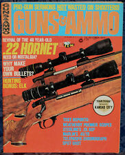 Magazine GUNS & AMMO October 1973 !DWM Luger Model 1920 CARBINE!, *ELMER KEITH*