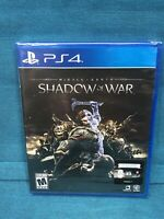 Middle-Earth: Shadow of War PS4 **BRAND NEW**