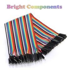 40pcs Dupont Jumper Ribbon Cable : 20cm : Male-Female : UK : 1st CLASS POST