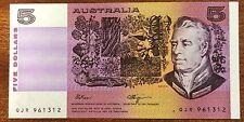 1990 $5 Banknotes Unc Fraser/Higgins R 212L QJR 961312