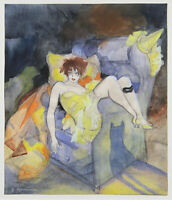 Jeanne Mammen : Ash Wednesday : 1926 : Archival Quality Art Print