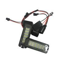 2x 24 LED Luz de matricula de licencia para Passat B6 B7 Polo Golf GTI MK5 G2H1