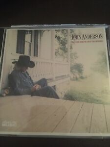 JOHN ANDERSON: I Just Came Home To Count The Memories RARE CD Album Vgc