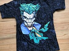Vintage Joker Batman Killing Joke  All Over Adult M Comic Cartoon DC Bighead