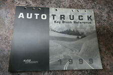 Ilco Unican 1999 Plus Auto-Truck Key Blank Reference book Acura to Yugo