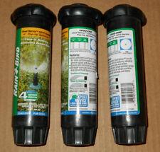 "3- Pack RAIN BIRD 1240-DSF 4"" Pop-Up Sprinkler Dual Spray 8'-15 Ft, Full Circle"