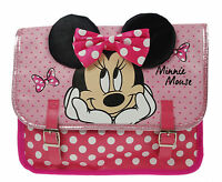 Girls - Disney Minnie Mouse Satchel School Nursery Bag