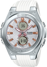 Casio G-Shock G-MS Women's MSGC100-7A Silver/White Brand New Withtags