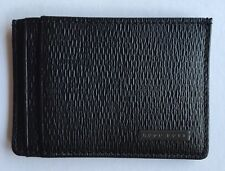 HUGO BOSS Black Luber Textured-Leather Cardholder RRP £75
