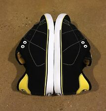 DVS Gavin CT Size 9 Black Nubuck Deegan BMX DC Skate Shoes Sneakers Deadstock