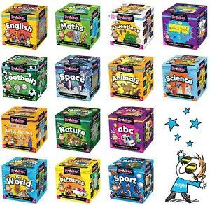 Brainbox Educational Card Games   Family Fun Quiz   Memory & Observation Skills
