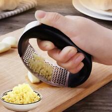 Stainless Steel Garlic Press Crusher Squeezer Mincer Chopper Kitchen Gadget HOT
