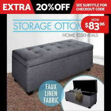 Unbranded Grey Ottomans, Footstools & Poufs