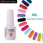 Arte Clavo 8ml Gelish Soak Off UV/LED Gel Color Nail Polish Base Top Coat Nail