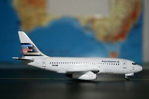 Aeroclassics 1:400 Polynesian Boeing 737-200 VH-CZM (ACVHCZM) Ansett Model Plane