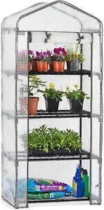 Greenhouse Portable Growhouse 4-Tier Heavy Duty 5ft Height Vegtable Plant Grow