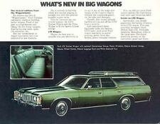 1973 Ford LTD & Pinto Station Wagon Brochure 11464-ZY49US