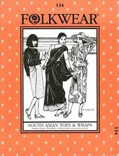 Folkwear 134 South Asian Tops and Wraps Traditional Costume Sewing Pattern