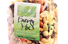 12 Oz Gourmet Style Bag of Energy Trail Mix with Chicago's Chocolate  [3/4 lb.]