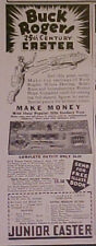 Lionel Trains~ BUCK ROGERS ~Junior Casters~1935~Toy Ad